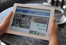 Fallen Sie nicht auf den kostenlosen iPhone X Betrug auf Facebook herein