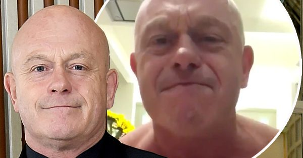 EastEnders-Star Ross Kemp NACKTE in Video feiert England 2018 World Cup-Sieg gegen Kolumbien