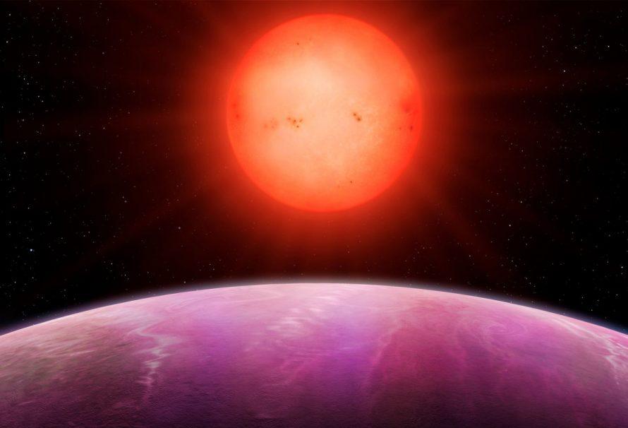Astronomen verblüfft von Monsterplaneten, die einen winzigen Stern umkreisen