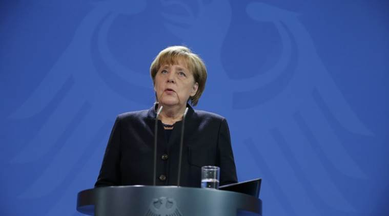 Angela Merkel sagt, Deutschland bleibt dem iranischen Atomabkommen verpflichtet