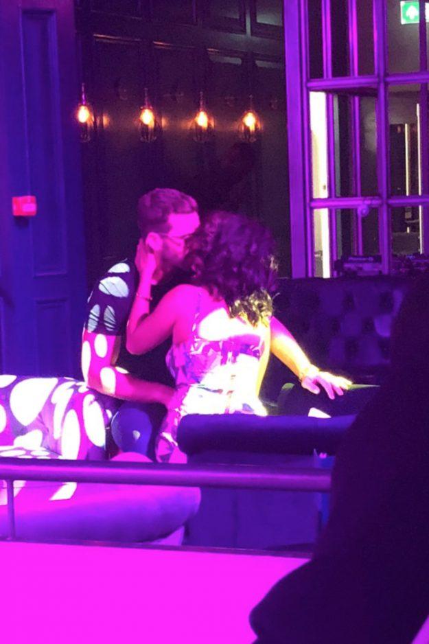 Alex Miller sah leidenschaftlich seine Ex Natasha Sandhu küssen