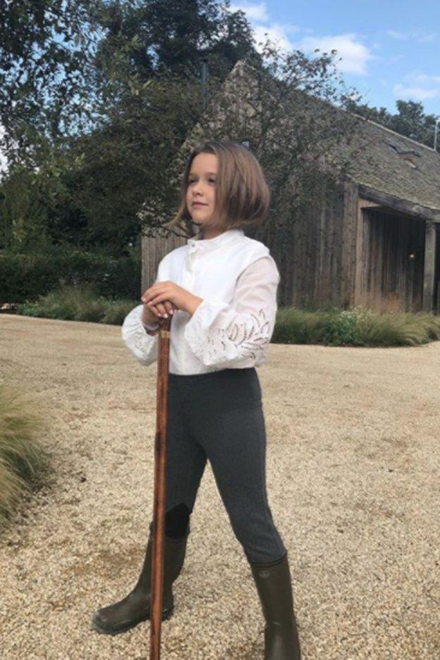 Harper Beckham Debutiert Huge Haar Transformation Wie Sie Mutter