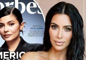 """Kim Kardashian beißt sich auf Kritiker zurück, die Kylie Jenners Forbes-Magazin-Titelseite zugeschrieben haben: """"Ich verstehe es nicht"""""""