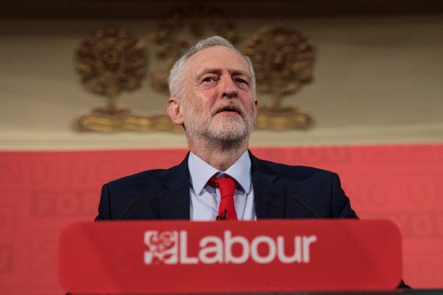 Laborleiter Jeremy Corbyn