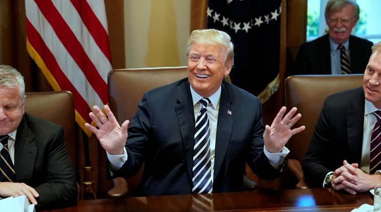 Donald Trump begrüßt Nordkoreas Plan, Atombunker zu sprengen