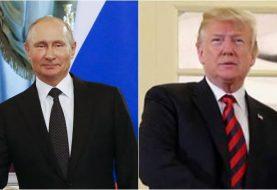 Wladimir Putin-Donald Trump Gipfel auf der Tagesordnung als John Bolton Moskau Gespräche hält