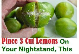 Platz 3 Zitronen auf Ihrem Nachttisch und es wird Ihr Leben für immer verändern Sie vertrauen ihm