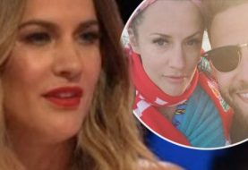 Love Islands Caroline Flack bricht die Stille, als die Fans spekulieren, warum sich der Schock mit dem Verlobten Andrew Brady geteilt hat