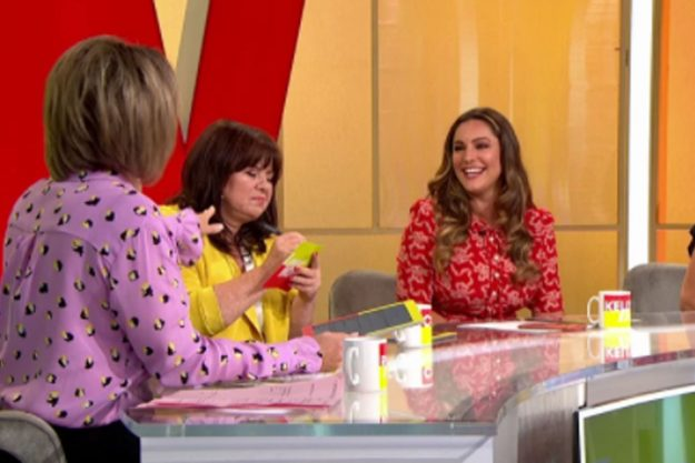 Loose Women: Kelly Brook verärgerte Fans mit ihren Kommentaren über arbeitende Mütter