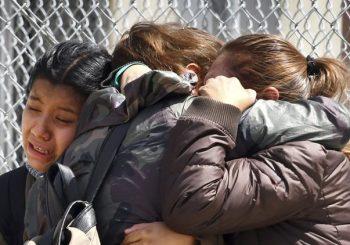 California High School Shooting: Chaos nach mehreren Schießen Berichte, 1 Student verwundet