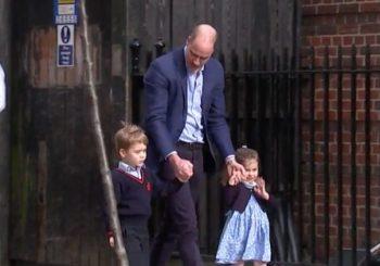 Königliches Baby: Updates, als Kate Middleton Herzogin von Cambridge mit Prinz William an ihrer Seite gebiert