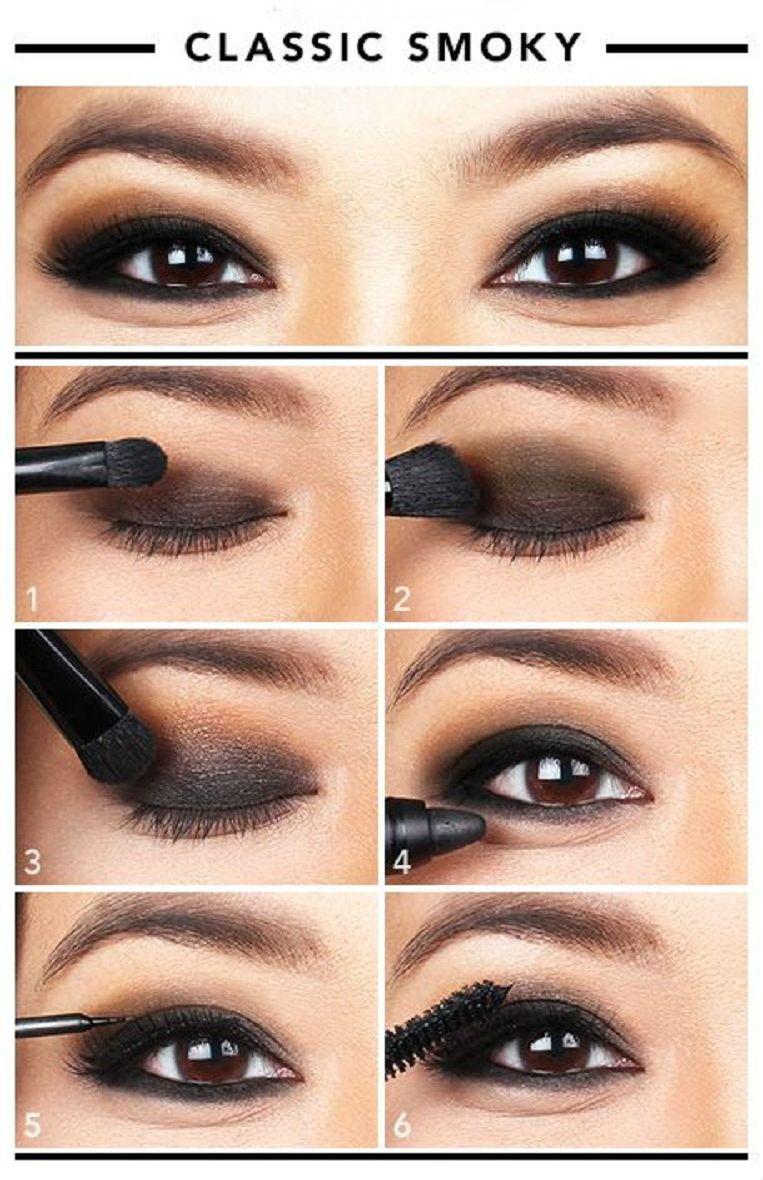 Brown-Eyeshadow-Tutorials-für-ein-mehr-Seductive-Look-1