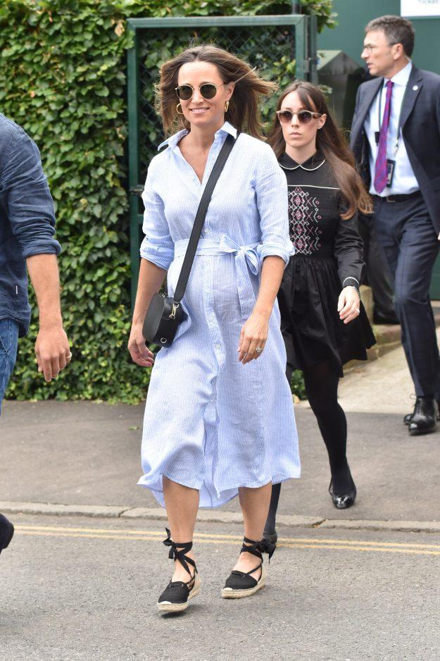 Pippa Middleton zeigte ihren wachsenden Babybauch