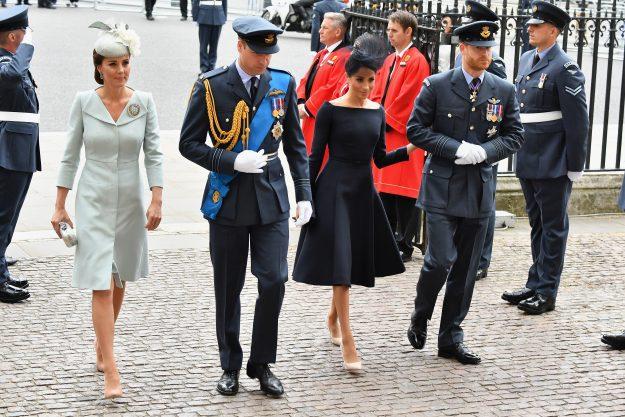 Die Herzogin von Cambridge Kate Middleton kehrt aus dem Mutterschaftsurlaub zurück, um sich der königlichen Familie bei der Verlobung anzuschließen