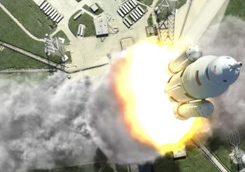 Die NASA testet Rakete, um Menschen zum Mars zu bringen
