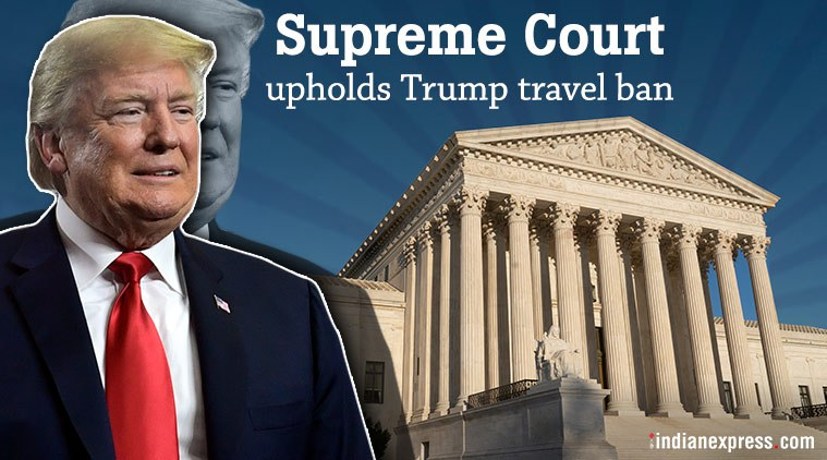 """US-Gericht setzt Trumps Reiseverbot gegen Muslime-Mehrheitsnationen fort, antwortet er mit """"Wow"""""""