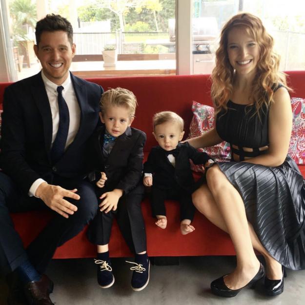 Michael Buble und Luisana Lopilato sind bereits stolze Eltern der Söhne Noah und Elias