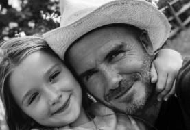 """David Beckham schreibt zu ihrem siebten Geburtstag eine herzerwärmende Hommage an Tochter Harper: """"Sie ist in jeder Hinsicht perfekt"""""""