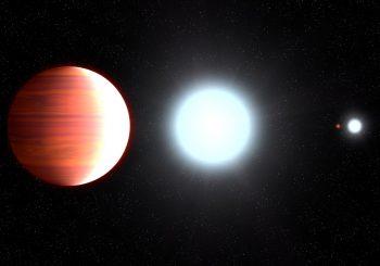 Sonnencreme fällt wie Schnee auf diesem bizarren Planeten