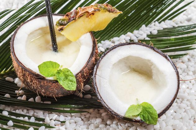 Fasten mit Kokoswasser 1