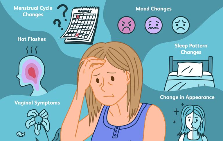 6 frühe Anzeichen der Menopause bei Frauen - VonderWelt