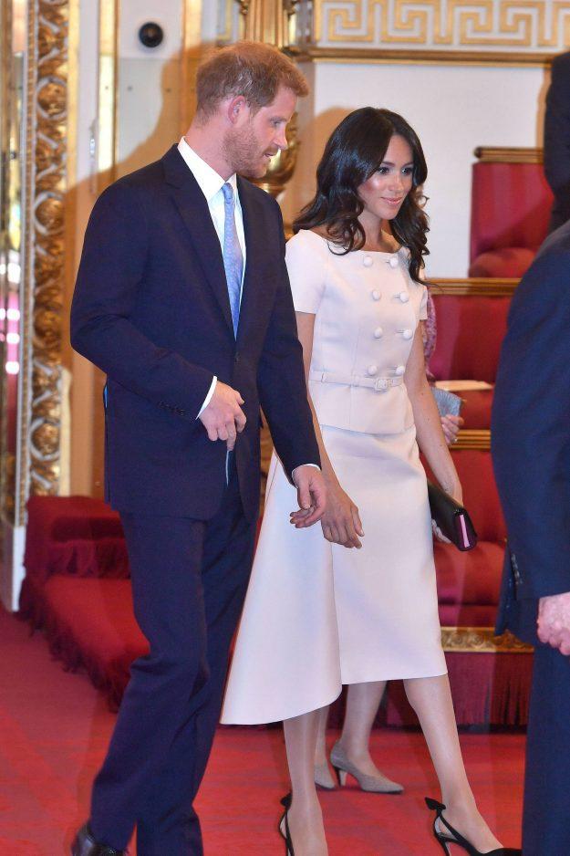 Der Herzog und die Herzogin von Sussex bei der Queen's Young Leaders Awards Zeremonie
