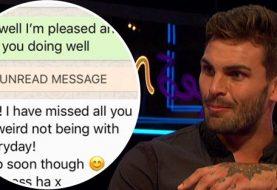 Love Islands Adam Collard bestätigt, dass er Ex Rosie Williams hinter Zara McDermotts Rücken Text geschrieben hat, als er Bilder ihrer Nachrichten teilt