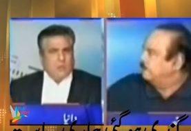 Der pakistanische Minister Daniyal Aziz wurde von Imrans Parteiführer Naeemul Haque geschlagen