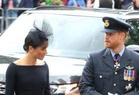 Prince Harry und Meghan Markle sehen umwerfend aus, als sie sich Prinz William und Kate Middleton anschließen, um die RAF zu ehren