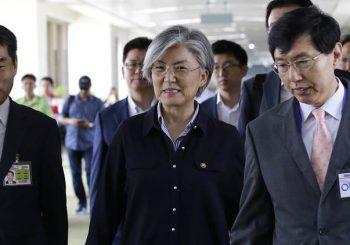 S Koreanischer Außenminister, um mit Mike Pompeo vor Korea-Gipfel zu planen