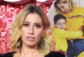 Stacey Solomon offenbart, dass sie nach dem Baden mit ihren beiden Söhnen Zachary und Leighton Kindesmissbrauch vorgeworfen wurde